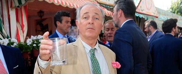 José Manuel Soto en la Feria de
