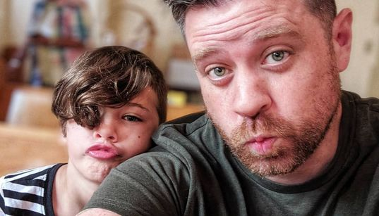 How This Dad Is Busting Stereotypes About Fathers Raising