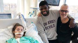 Subban rencontre une enfant malade et Thierry Henry avant de jouer contre le