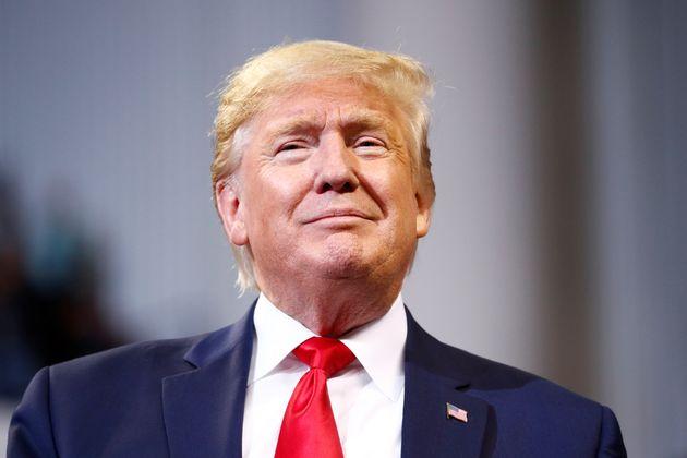Donald Trump, ici lors d'un meeting de campagne le 14 novembre, a avancé sa visite médicale...