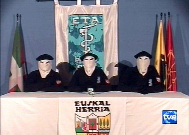 Miembros de ETA anuncian el alto el fuego