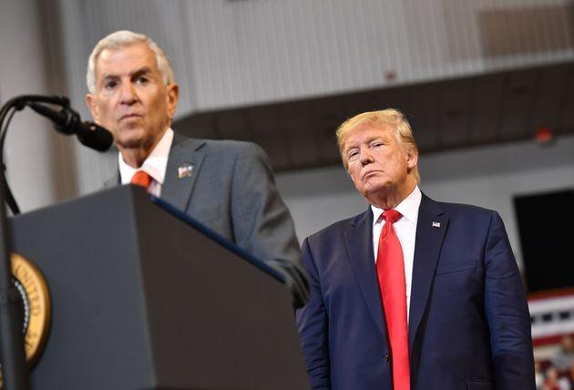 Trump présent lors d'un meeting de campagne de Rispone à Bossier