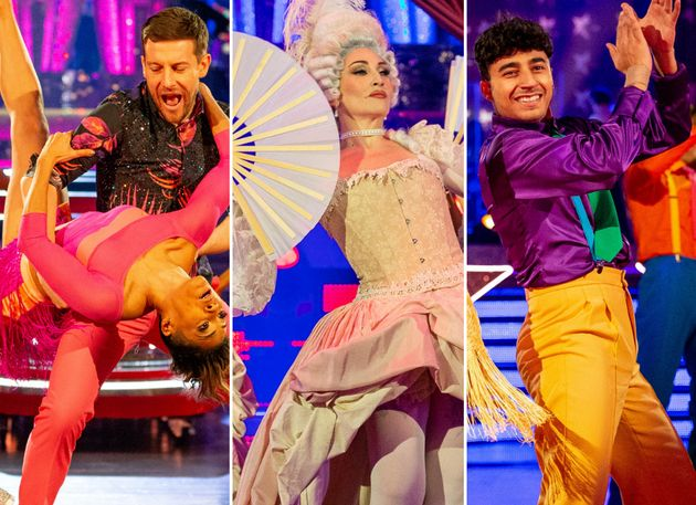 The stars of Strictly Come Dancing in