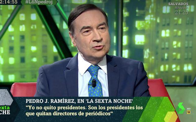 Pedro J. Ramirez, en 'LaSexta