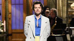 Harry Styles Pokes Fun At Former Bandmate Zayn Malik During SNL