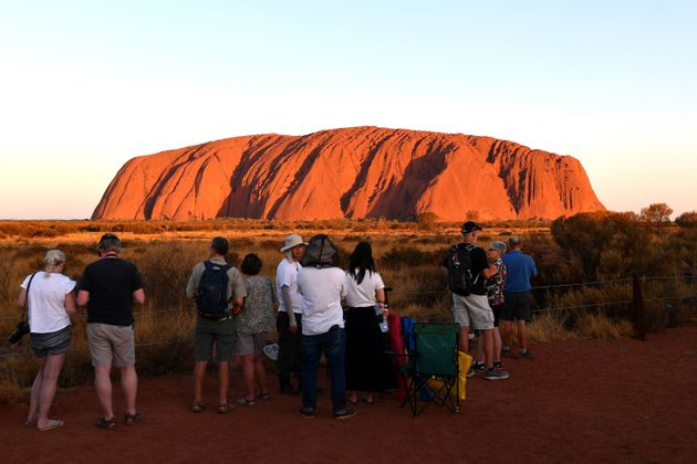 The October 26 ban on climbing Uluru marked 34 years since the site was handed back to the traditional...