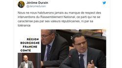 La vidéo de cet élu socialiste étrillant Julien Odoul devient