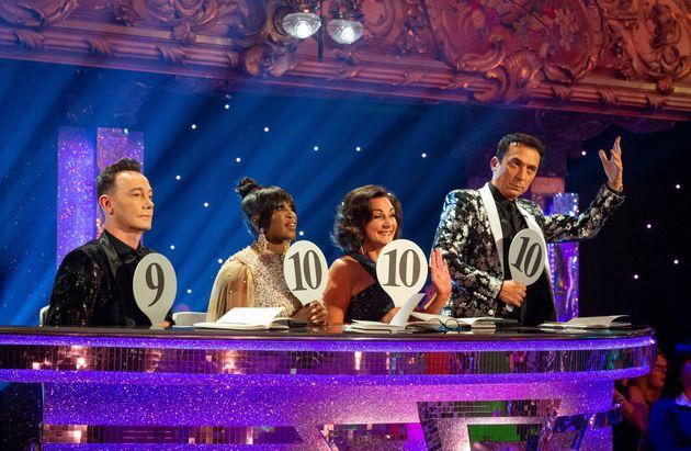 Strictly judges Craig Revel Horwood, Motsi Mabuse, Shirley Ballas and Bruno