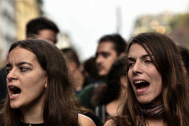 Η 46η επέτειος της εξέγερσης του Πολυτεχνείου σε
