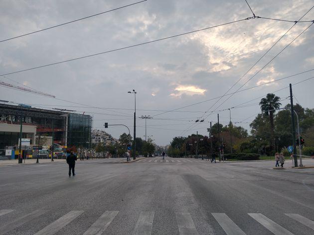 Βασιλίσσης Σοφίας και Κωνσταντίνου - Αυστηρά μέτρα στους δρόμους της Αθήνας για την επέτειο του