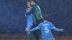 Saint-Marin, la pire sélection de foot, exulte après son 1er but à domicile en 6