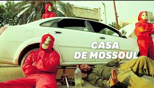 """Ces Irakiens reprennent """"Bella Ciao"""" façon """"Casa de Papel"""" pour dénoncer le"""
