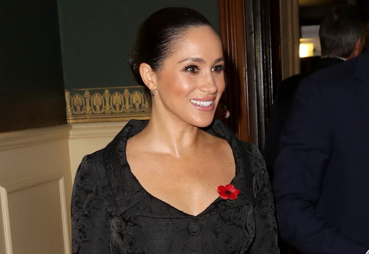 Meghan Markle at the Royal British Legion Festival of Remembrance in London on Nov. 9.