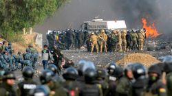 Com estradas bloqueadas, população na Bolívia começa a enfrentar crise de