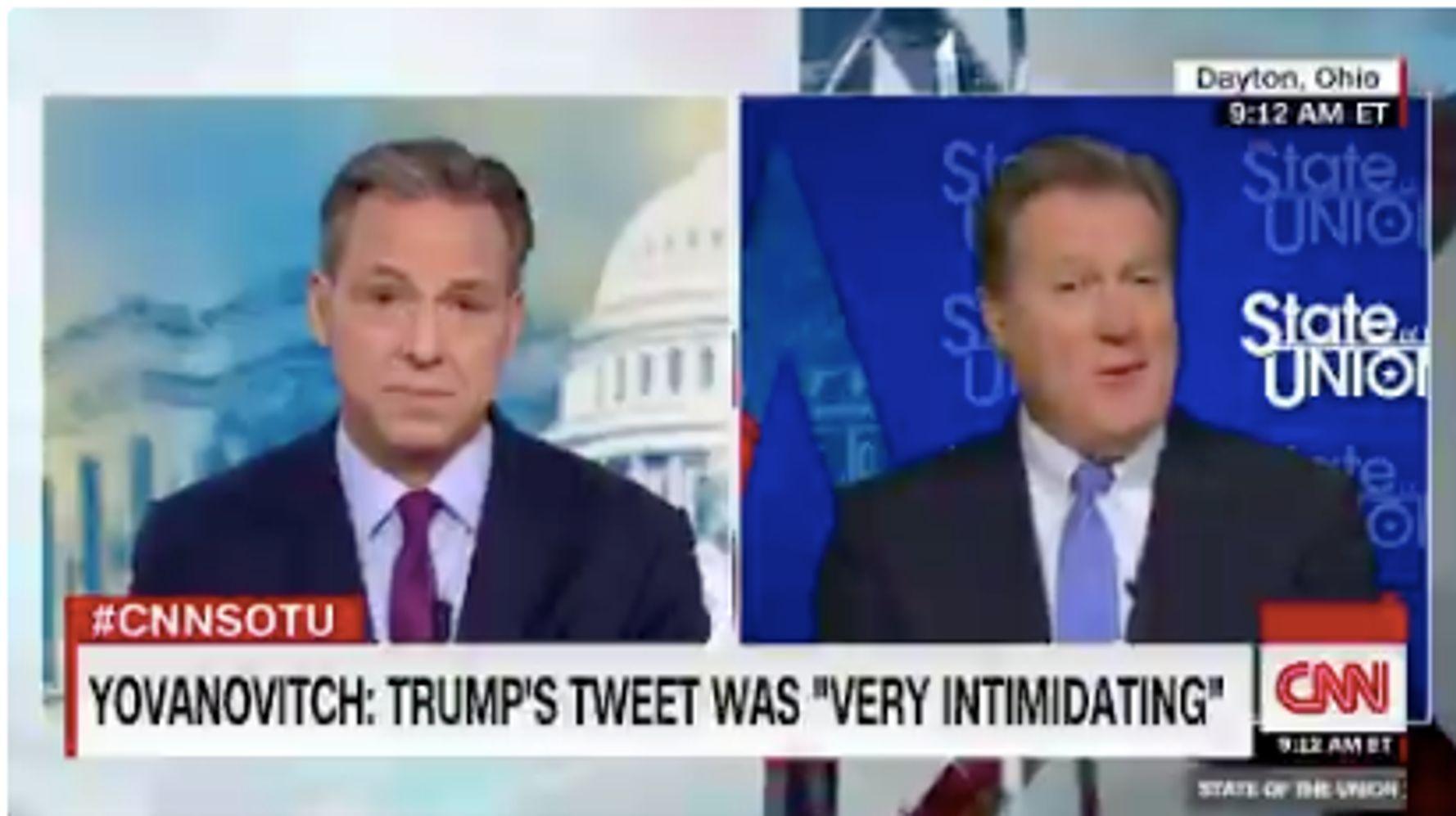 Westlake Legal Group 5dd192ff2100006a6434d32c GOP Congressman: Trump's Yovanovitch Tweet 'Unfortunate' But 'Not Impeachable'