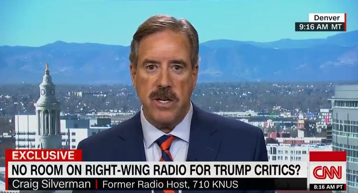 Craig Silverman says he was abruptly fired from his weekly radio show after criticizing Trump and his conservative colleagues