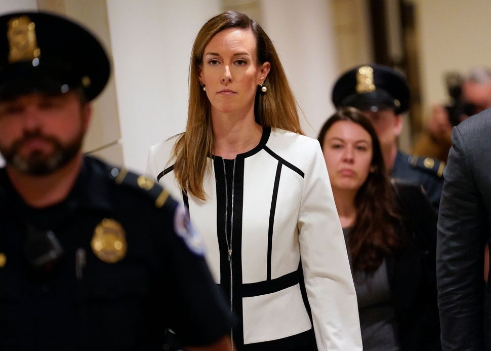 Jennifer Williams, a special adviser to Vice President Mike Pence for Europe and Russia who is a career foreign service offic