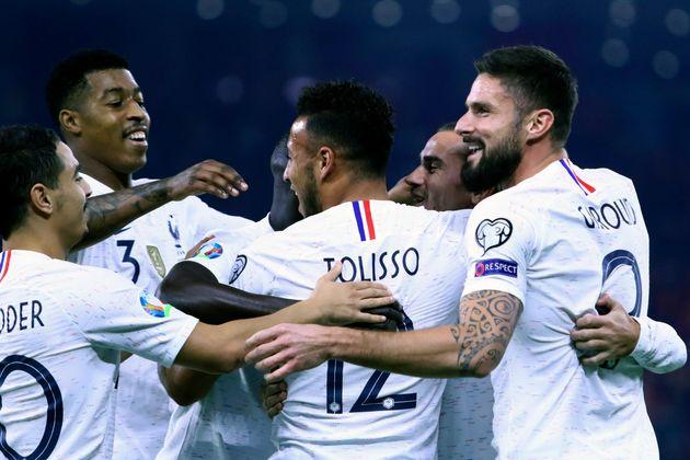 La France, déjà qualifiée pour l'Euro-2020, bat l'Albanie et finit 1ère de...
