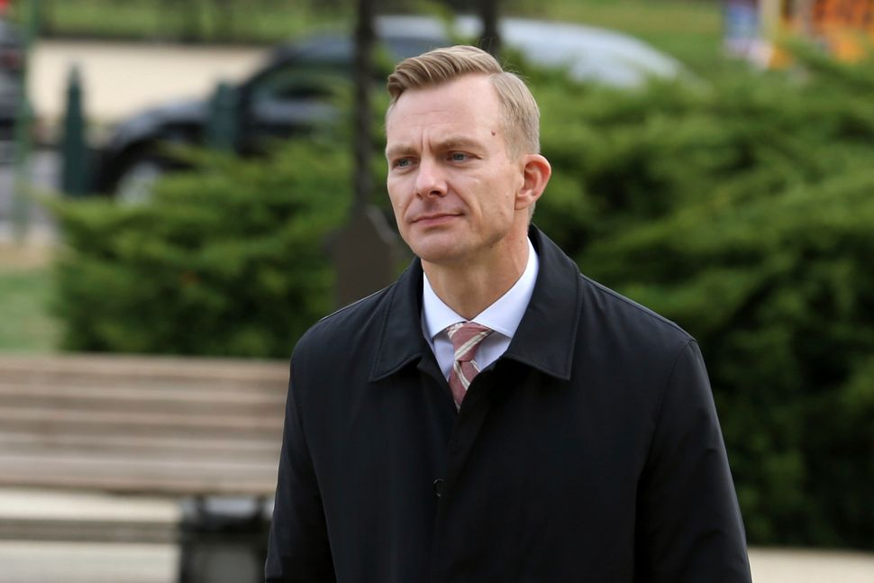 David Holmes, the political counselor at the embassy in Kyiv, privately testified Nov. 15, 2019, before impeachment investiga