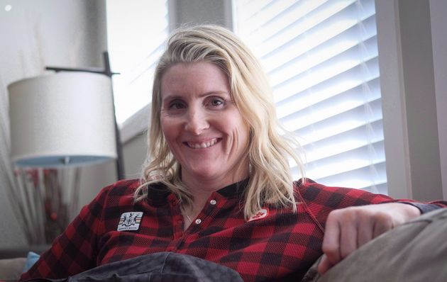 Four time Olympic gold medalist Hayley Wickenheiser poses for a portrait in Calgary on Jan. 11,