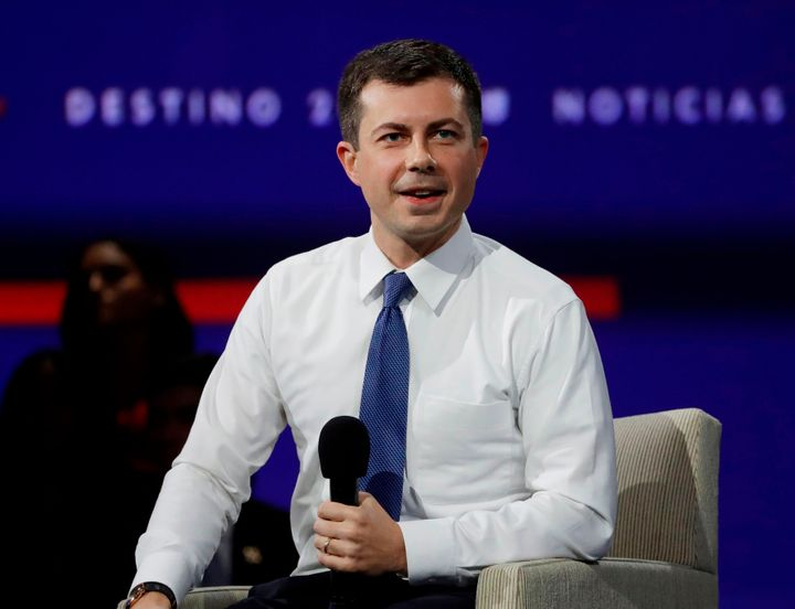 South Bend, Indiana, Mayor Pete Buttigieg's college affordability plans is bigger than Joe Biden's, but more modest than Bern