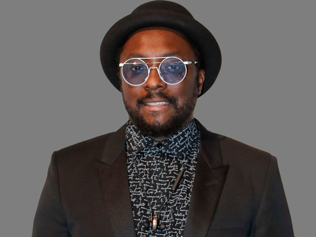 Will.i.am, rapper and singer, graphic element on