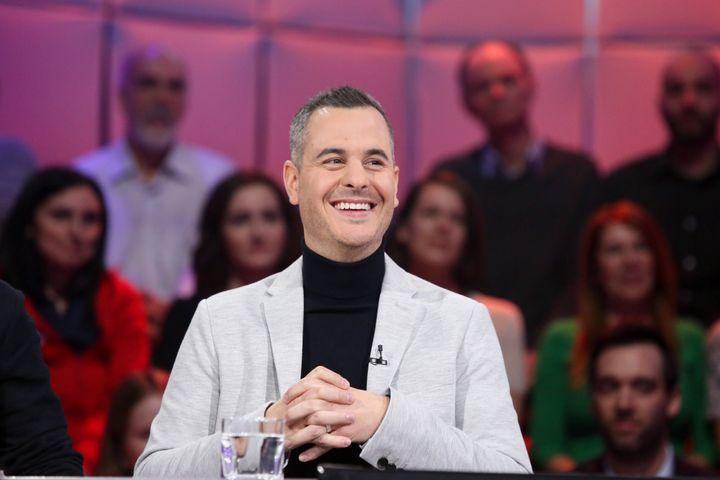 Pierre Hébert à «Tout le monde en parle», le 17 novembre 2019.