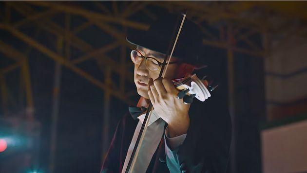마미손이 신곡 '별의 노래' 콜라보레이션을 바이올리니스트 유진박과 함께한