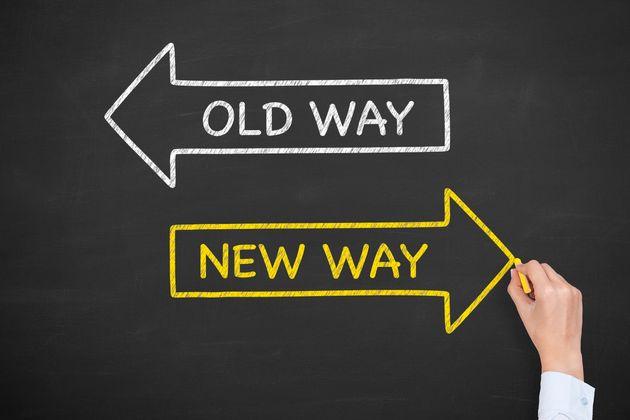 Old Way New Way on