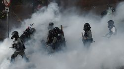 Hong Kong, assedio al