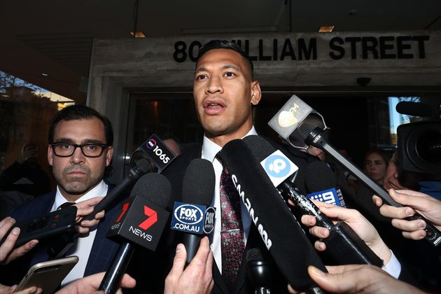 Former Australian Rugby Star Israel Folau Condemned After Claiming Deadly Bushfires Are A 'Little Taste Of God's Judgement'