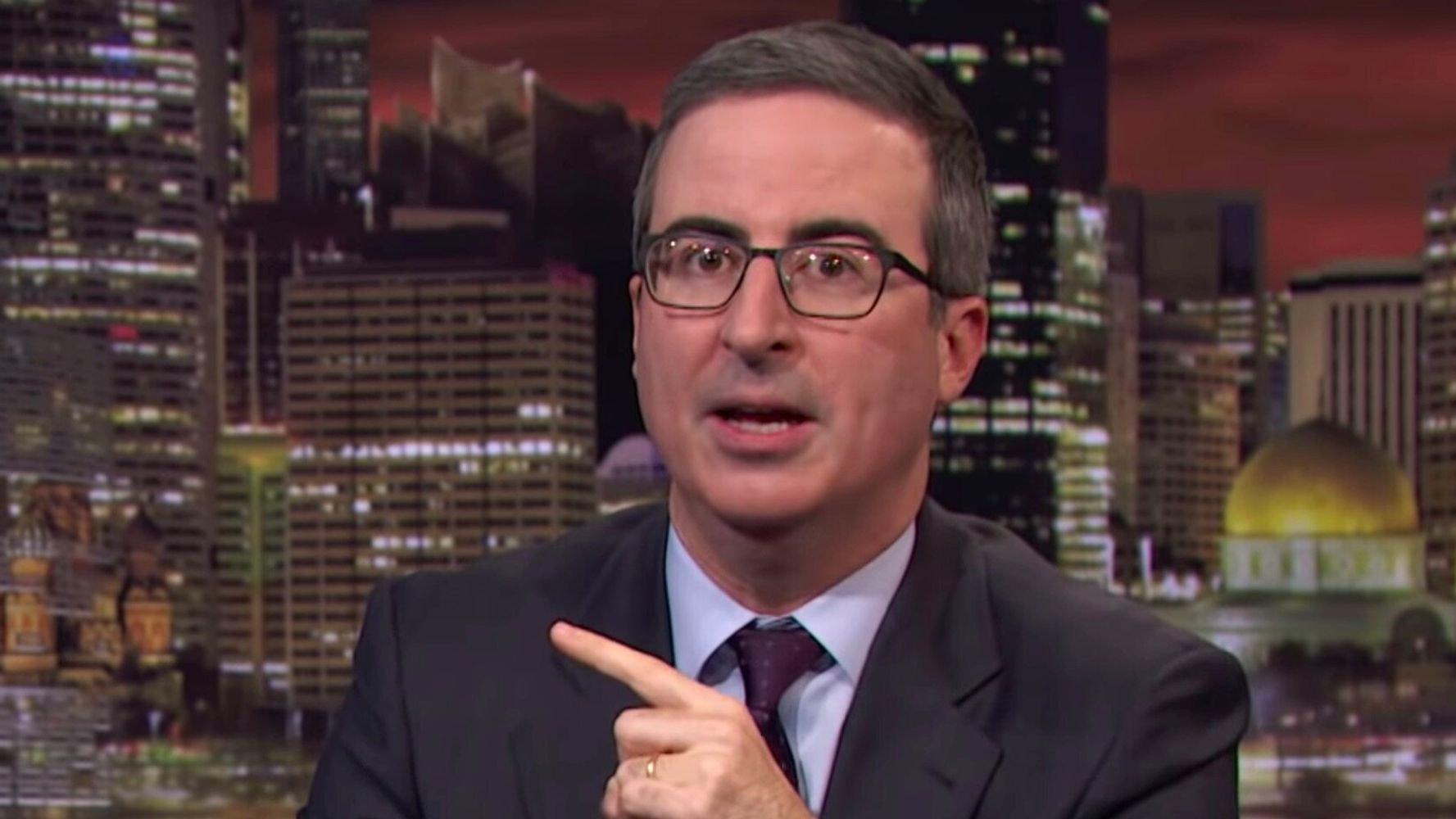 Want To 'Really Irritate' Donald Trump? John Oliver Has A Plan For You.