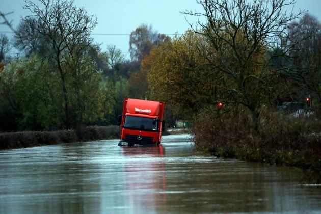 UK Weather: Overnight Cold Snap Sees Flood-Hit Communities Wake To Freezing Temperatures