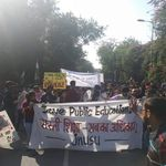 JNU Protest: Students Lathi-Charged, Arrested During March To