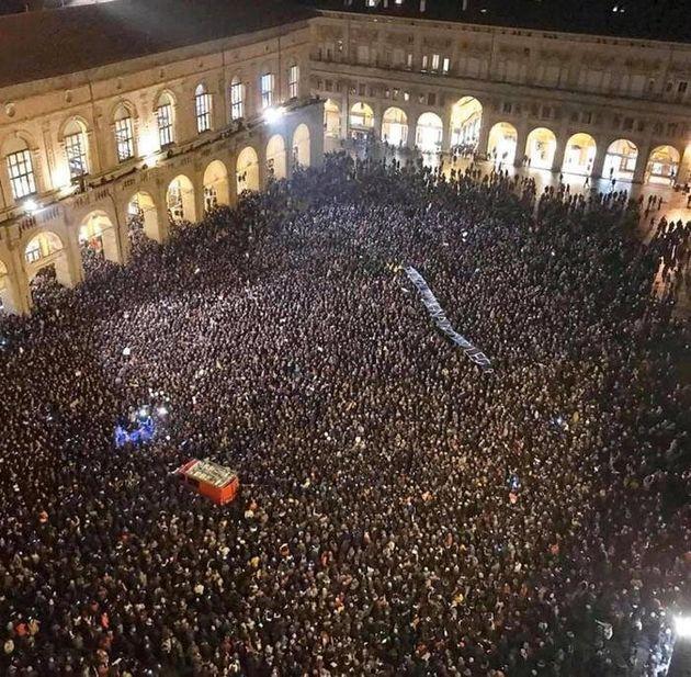 Le sardine di piazza Maggiore e la sinistra