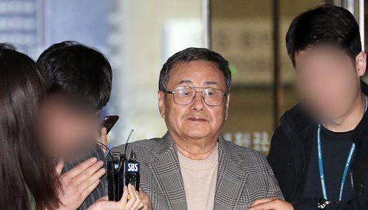 '가사도우미 성폭행 혐의' 동부그룹 김준기 전 회장이 구속기소