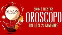 Oroscopo di Simon and The Stars: la settimana dal 18 al 24