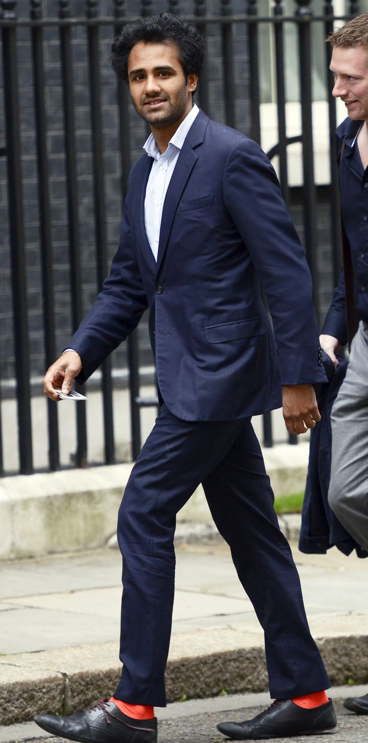 Rohan Silva, senior policy advisor to David Cameron, pictured in 2013