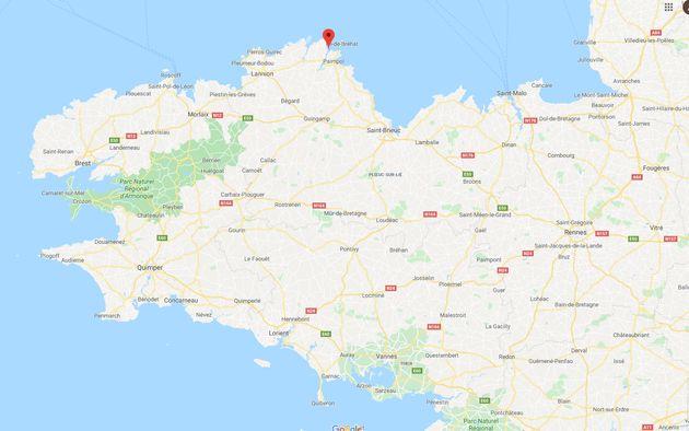 cet ilot breton est à