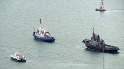 Η Ρωσία επέστρεψε στην Ουκρανία τα τρία σκάφη του πολεμικού ναυτικού που είχε