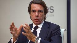 Aznar apuesta por una alianza de PP y PSOE que no esté encabezada por