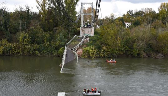 Les causes de l'effondrement du pont à Mirepoix inconnues, une enquête