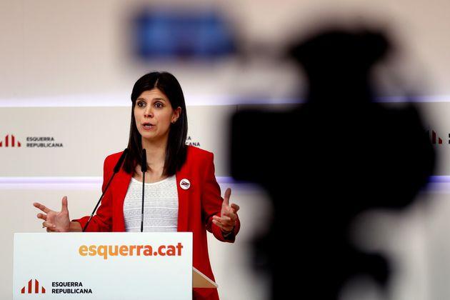 La portavoz de ERC, Marta
