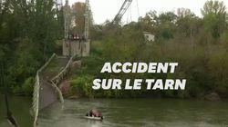 Un deuxième corps retrouvé après l'effondrement d'un pont près de