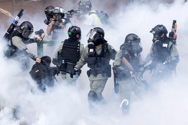 Hong Kong Protests Escalate With Tense Police Standoff At University