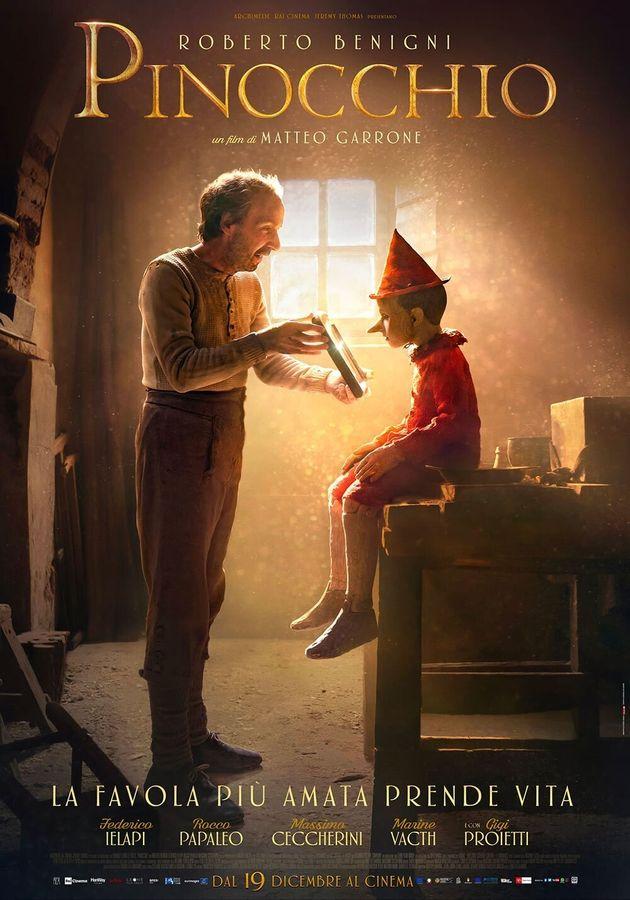 La favola di Pinocchio prende di nuovo vita con Benigni nel