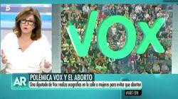 Ana Rosa, indignada como nunca contra una diputada de Vox: