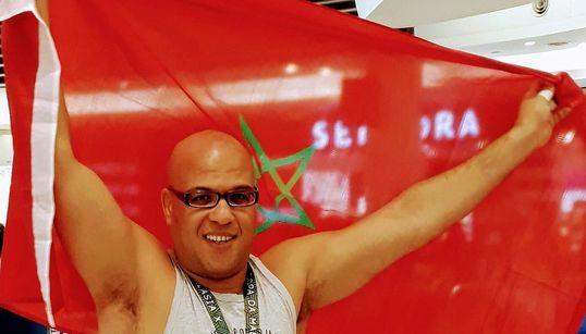 Le Marocain Attaf Mohsin décroche la médaille de bronze au championnat international de judo à