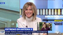 La petición de Susanna Griso a María Teresa Campos en 'Espejo Público': hace nada hubiese sido