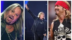 Mötley Crüe, Def Leppard και Poison μαζί στην σκηνή το
